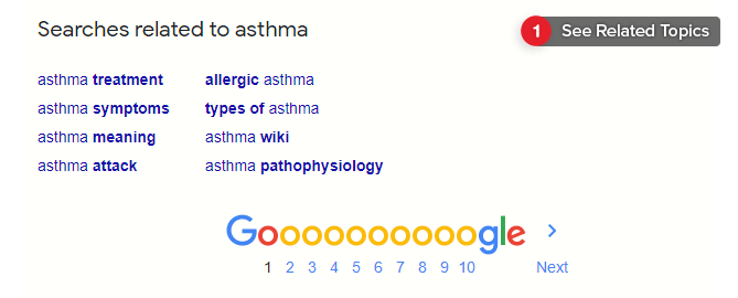 Google's Searches Related To