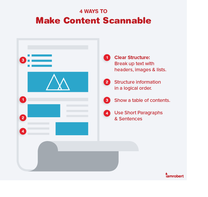 4 Ways to Make Content Scannable