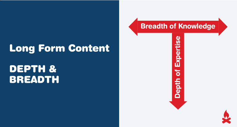 Long Form Content = Depth & Breadth