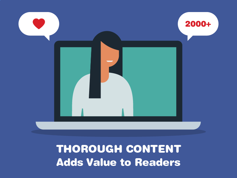 Thorough Content Adds Value to Readers
