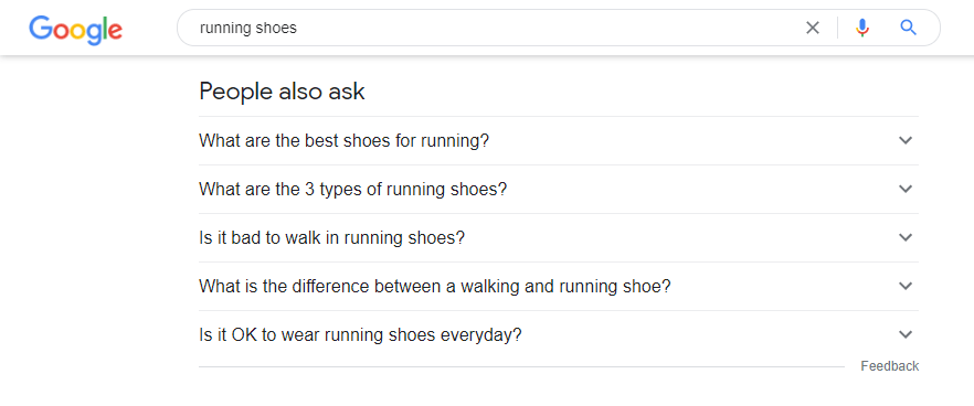 Google People Also Ask